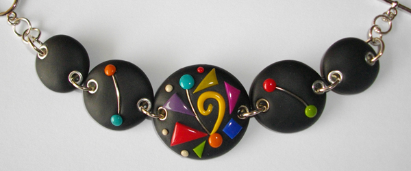 Bracelet rond multicolore (Calliste)