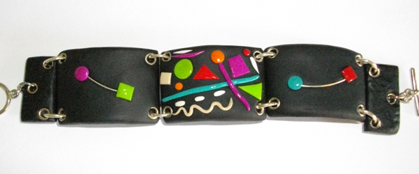 Bracelet rectangle multicolore (kandyn)