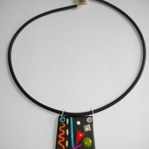 Trapèze miro (multicolore) - Vente en ligne de bijoux fimo