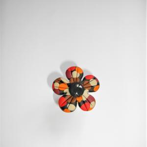 Bague fleur (rouge) - Vente en ligne de bijoux fimo