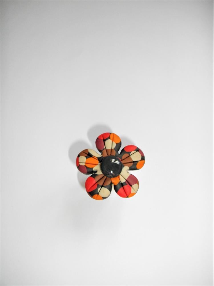 Bague fleur rouge vente de bijoux fimo en ligne for Vente de fleurs en ligne