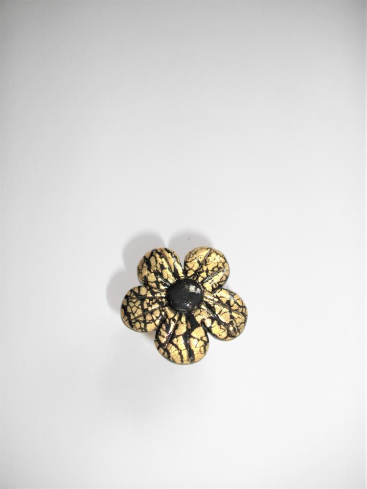 Bague fleur dor vente de bijoux fimo en ligne for Vente de fleurs en ligne