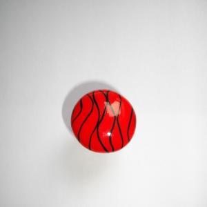 Bague ronde (fils rouge) - Vente en ligne de bijoux fimo