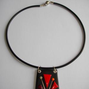 Trapèze classique (rouge) - Vente en ligne de bijoux fimo