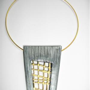 Trapèze grillage ( doré, argenté) - Vente en ligne de bijoux fimo