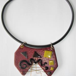 Déstructuré ouvert avec métal - Vente en ligne de bijoux fimo