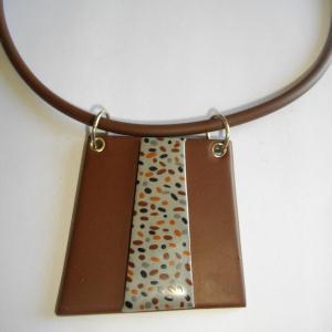 Trapèze ( chamois) - Vente en ligne de bijoux fimo