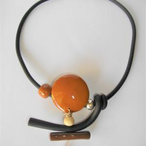 Pantin (chamois) - Vente en ligne de bijoux fimo