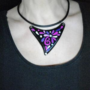 Rendu porté (triangle) - Vente en ligne de bijoux fimo