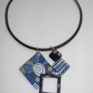 Calèche (turquoise) - Vente en ligne de bijoux fimo