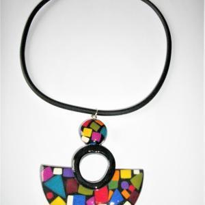 demi lune (multicolore) - Vente en ligne de bijoux fimo