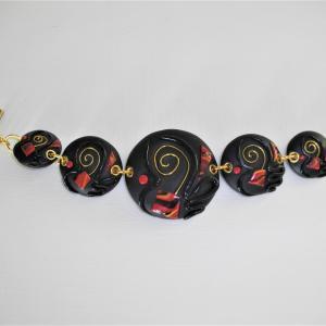 Bracelet (éole) - Vente en ligne de bijoux fimo