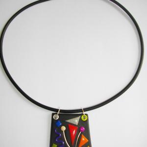 Trapèze classique (multicolore) - Vente en ligne de bijoux fimo