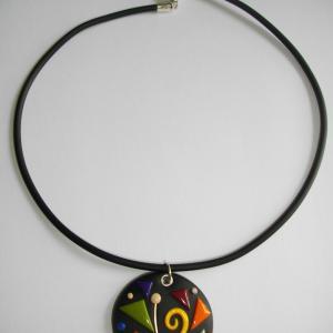 Rond (multicolore) - Vente en ligne de bijoux fimo