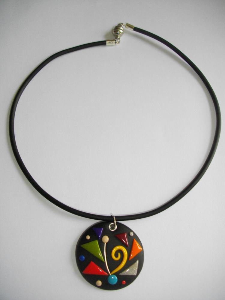 Préférence Pendentif (escargot) vert anis - Vente de bijoux fimo en ligne  PN35